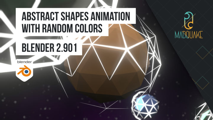 Abstract Shapes, Random Colors